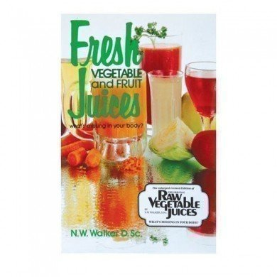 Health Book - Fresh Veg & Fruit Juices