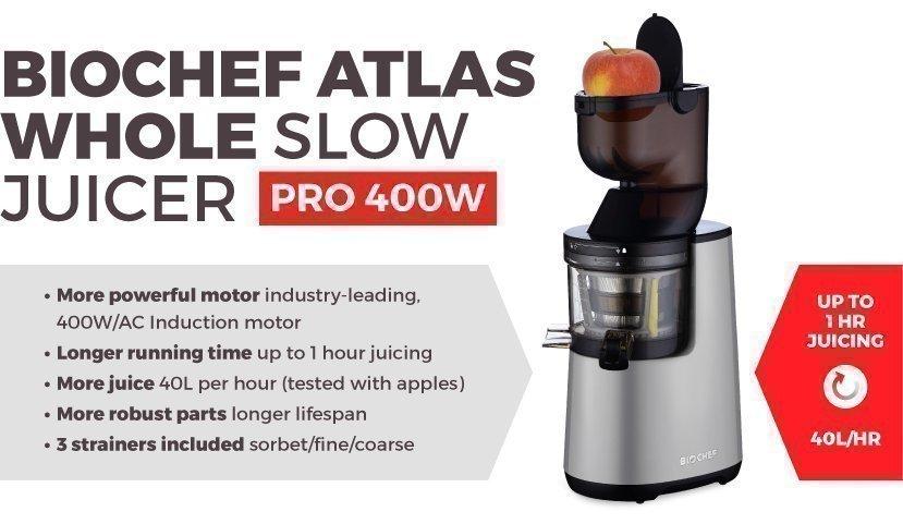 BioChef Atlas Whole Slow Juicer Pro