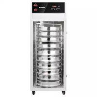 BioChef Commercial 10 Tray Rotating Food Dehydrator Front Open