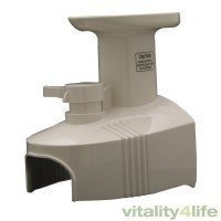 Hippocrates Juicer Feeding Chute Cover - White