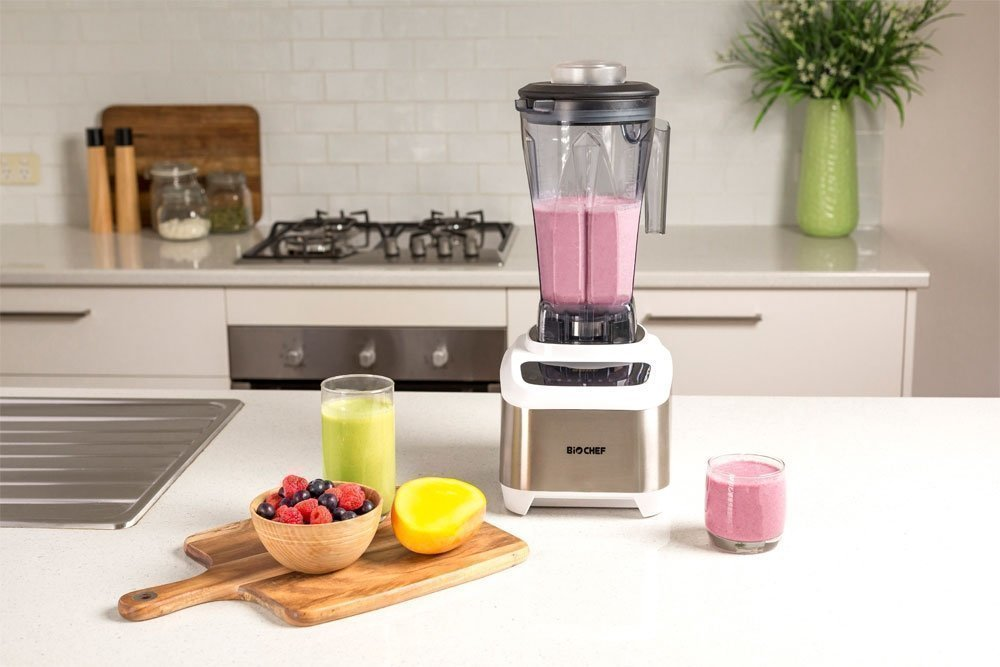 BioChef Atlas Power, the quietest super blender on the market