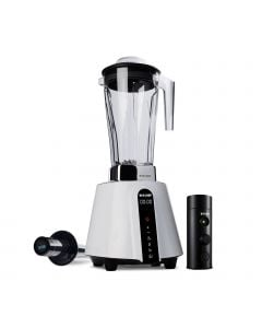 biochef living food vacuum blender white